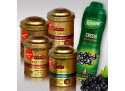 Set 4 Luxury Leaf Tea + 1 Teisseire schwarzer Johannisbeerensirup
