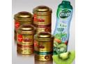 Set 4 Luxury Leaf Tea + 1 Teisseire Kiwi-Sirup