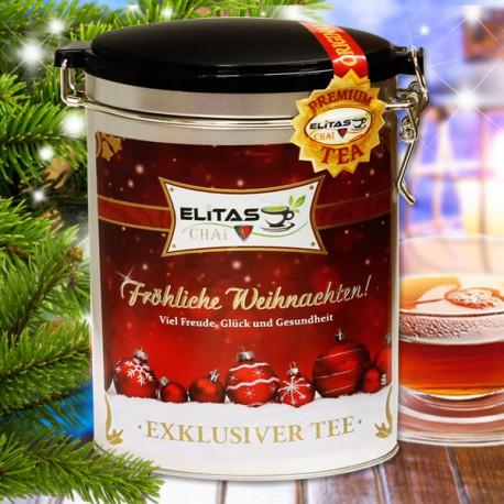 Счастливого Рождества - красный мотив
