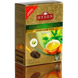 Алоэ Вера - зеленый байховый чай, Hyson Exquisite Collection, 100 г