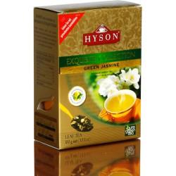 Зеленый байховый чай с цветками жасмина, Hyson Exquisite Collection, 100g