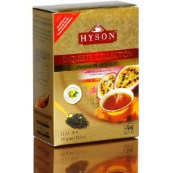 Черный байховый чай с маракуйей, Hyson Exquisite Collection, 100 г