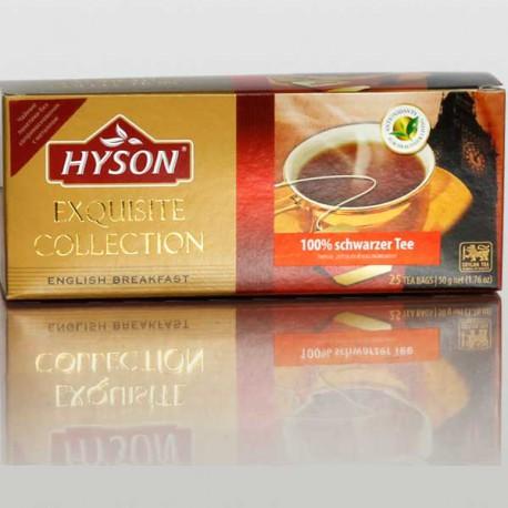 English Breakfast - цейлонский чай от Хайсон, Hyson Exquisite Collection