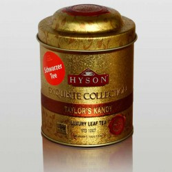 Taylor's Kandy Schwarzer Tee, Hyson Exquisite Collection, Luxury Leaf Tea