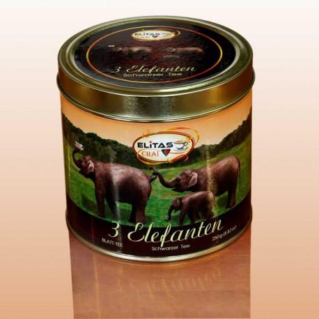 Три слона - черный чай Elitas CHAI
