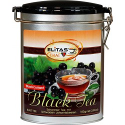 Schwarztee mit schwarzen Johannisbeeren - ELITAS CHAI