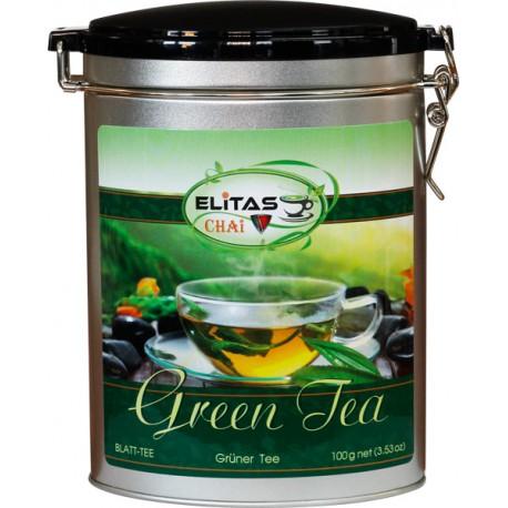 100% зеленый чай - Элитас ЧАЙ, 100 г