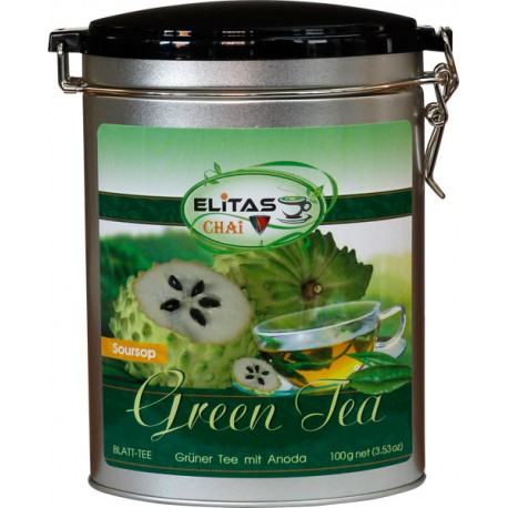 Зеленый чай Тропическая анона - Элитас ЧАЙ, 100 г