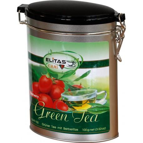 Зеленый чай с барбарисом - Элитас ЧАЙ, 100 г