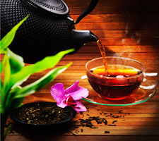 Wir lieben Tee