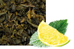 Grüntee mit Zitrone und Minze  von Elitas CHAI