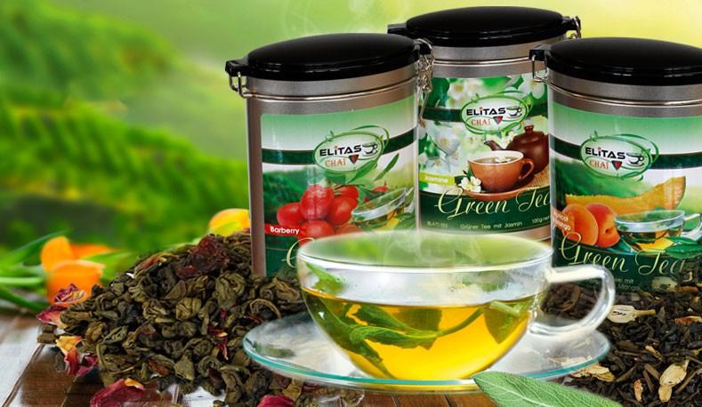 Зеленый чая от Elitas Chai